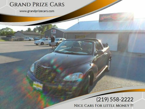 2005 Chrysler PT Cruiser for sale at Grand Prize Cars in Cedar Lake IN