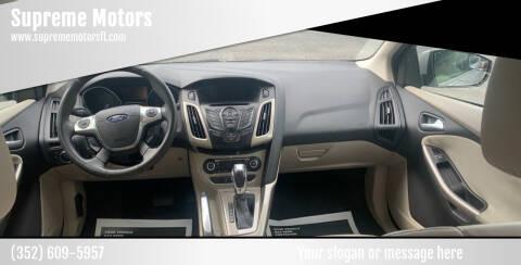 2012 Ford Focus for sale at Supreme Motors in Tavares FL