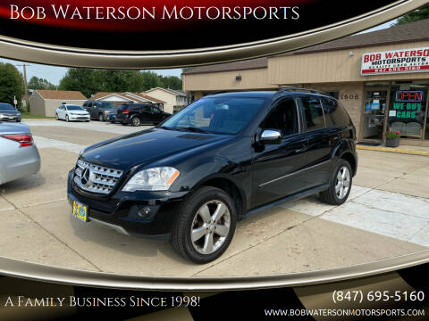 2009 Mercedes-Benz M-Class for sale at Bob Waterson Motorsports in South Elgin IL