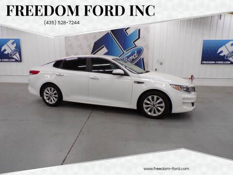 2016 Kia Optima for sale at Freedom Ford Inc in Gunnison UT