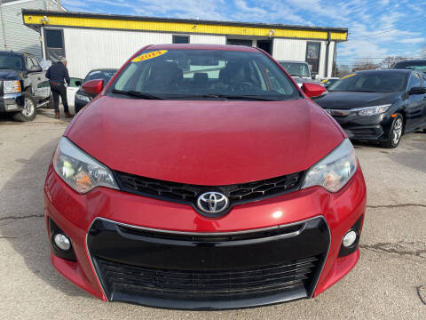 2014 Toyota Corolla for sale at Unique Auto Group in Indianapolis IN