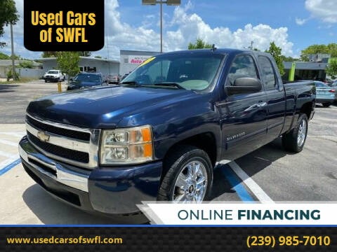 2011 Chevrolet Silverado 1500 for sale at Used Cars of SWFL in Fort Myers FL
