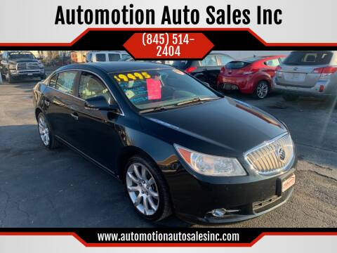 2010 Buick LaCrosse for sale at Automotion Auto Sales Inc in Kingston NY