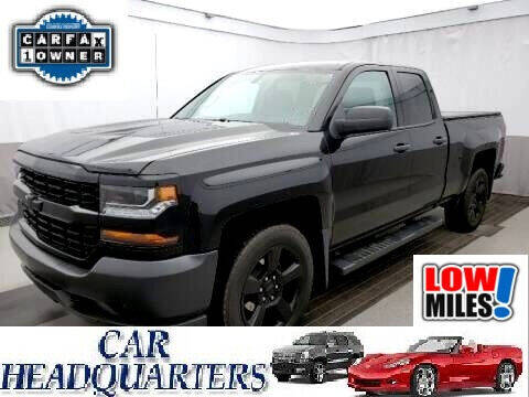 2018 Chevrolet Silverado 1500 for sale at CAR  HEADQUARTERS in New Windsor NY