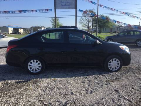 2012 Nissan Versa for sale at Affordable Autos II in Houma LA