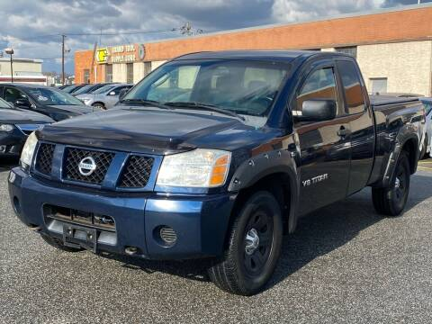2007 Nissan Titan for sale at MAGIC AUTO SALES - Magic Auto Prestige in South Hackensack NJ