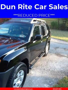 2008 Nissan Xterra for sale at Dun Rite Car Sales in Downingtown PA