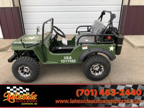2021 Coolster Challenger Jeep for sale at Lakeside Auto & Sports in Garrison ND