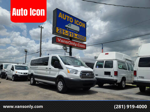 2017 Ford Transit Passenger for sale at Auto Icon in Houston TX