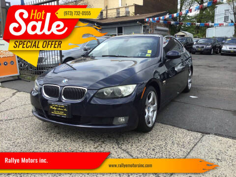 2009 BMW 3 Series for sale at Rallye  Motors inc. in Newark NJ
