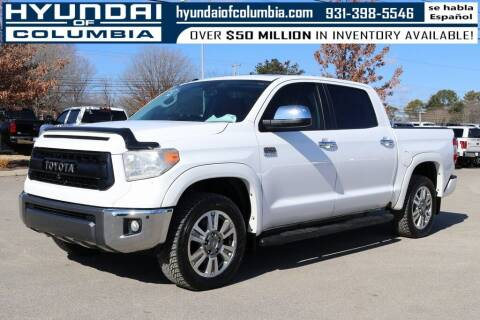 2016 Toyota Tundra for sale at Hyundai of Columbia Con Alvaro in Columbia TN