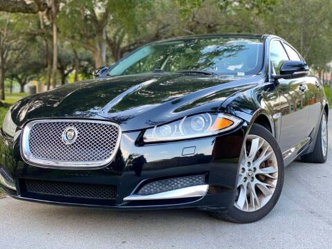 2013 Jaguar XF for sale at HIGH PERFORMANCE MOTORS in Hollywood FL