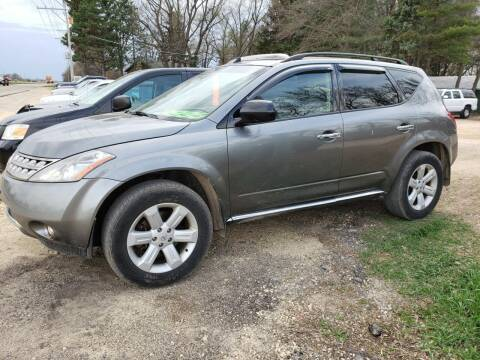 2006 Nissan Murano for sale at Northwoods Auto & Truck Sales in Machesney Park IL