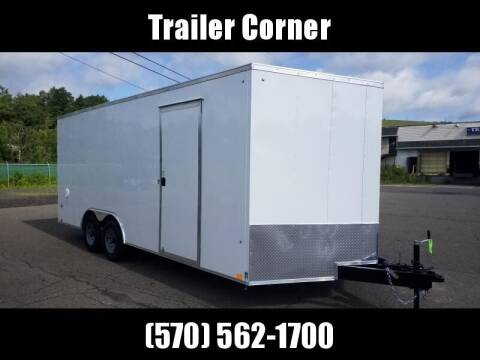 2022 Look Trailers ST 8.5X20 10K DLX EXT HEIGHT
