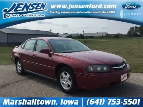 2005 Chevrolet Impala for sale at JENSEN FORD LINCOLN MERCURY in Marshalltown IA