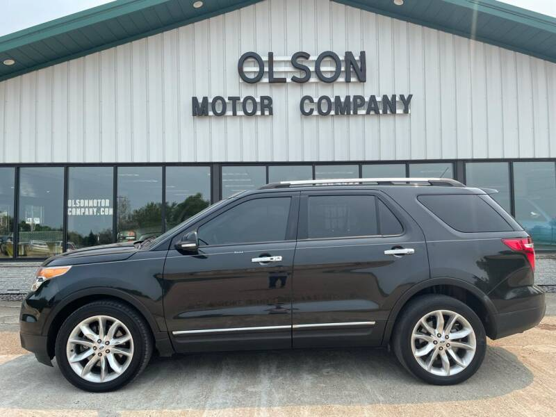 2013 Ford Explorer for sale at Olson Motor Company in Morris MN