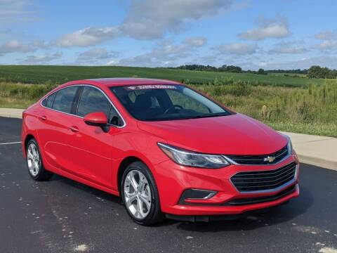 2017 Chevrolet Cruze for sale at Bob Walters Linton Motors in Linton IN