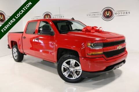 2018 Chevrolet Silverado 1500 for sale at Unlimited Motors in Fishers IN