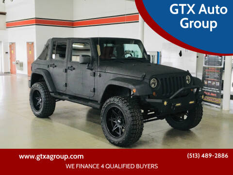2007 Jeep Wrangler Unlimited for sale at GTX Auto Group in West Chester OH