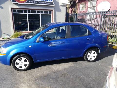 2006 Chevrolet Aveo for sale at AC Auto Brokers in Atlantic City NJ