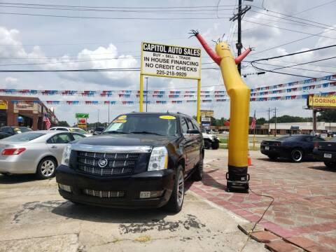 2012 Cadillac Escalade ESV for sale at CAPITOL AUTO SALES LLC in Baton Rouge LA