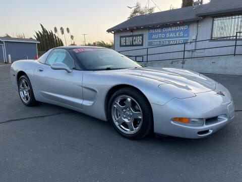 1998 Chevrolet Corvette for sale at Blue Diamond Auto Sales in Ceres CA