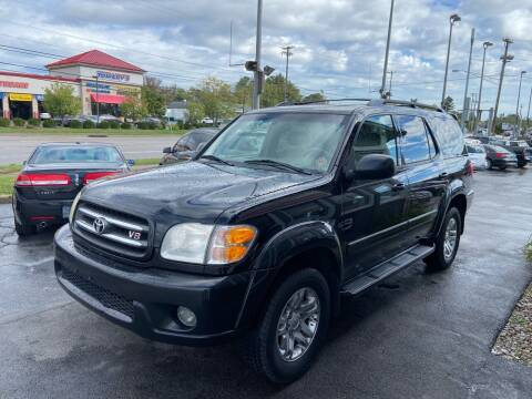 2003 Toyota Sequoia for sale at Martins Auto Sales in Shelbyville KY