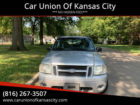 2001 Ford Explorer Sport Trac for sale at Car Union Of Kansas City in Kansas City MO