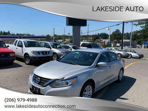 2017 Nissan Altima for sale at Lakeside Auto in Lynnwood WA
