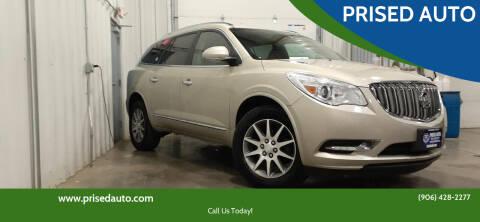 2013 Buick Enclave for sale at PRISED AUTO in Gladstone MI