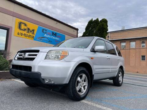 2006 Honda Pilot for sale at Car Mart Auto Center II, LLC in Allentown PA