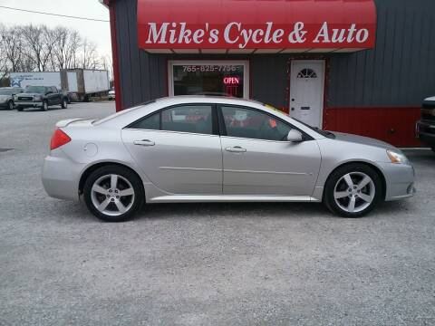 2008 Pontiac G6 for sale at MIKE'S CYCLE & AUTO - Mikes Cycle and Auto (Liberty) in Liberty IN