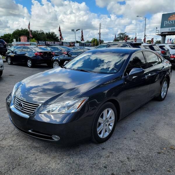 2009 Lexus ES 350 for sale at America Auto Wholesale Inc in Miami FL