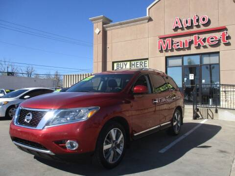 2014 Nissan Pathfinder for sale at Auto Market in Oklahoma City OK