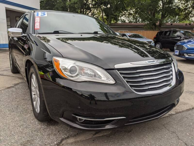 2013 Chrysler 200 for sale at GREAT DEALS ON WHEELS in Michigan City IN