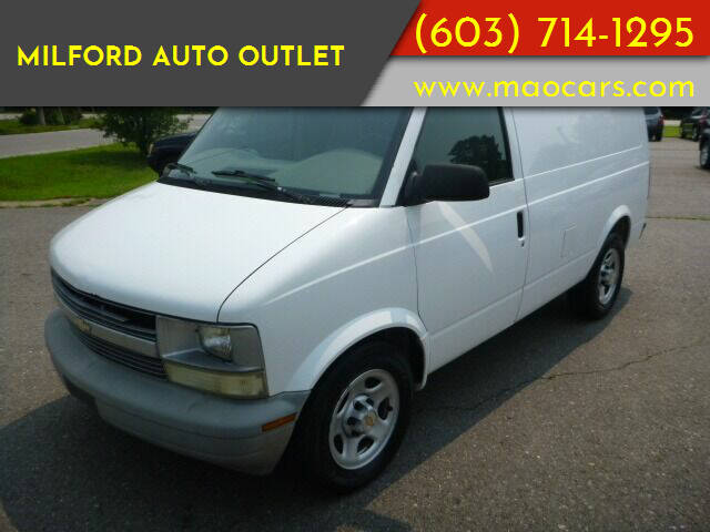 2005 Chevrolet Astro Cargo for sale at Milford Auto Outlet in Milford NH