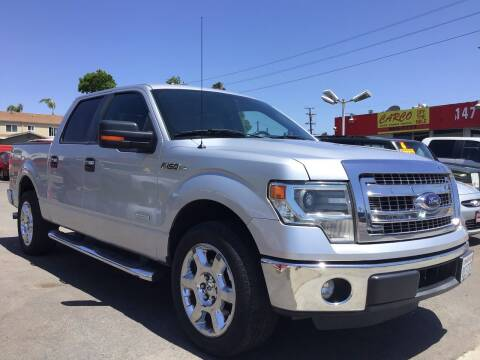 2014 Ford F-150 for sale at CARCO SALES & FINANCE #3 in Chula Vista CA