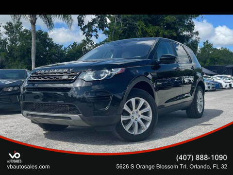 2017 Land Rover Discovery Sport for sale at V & B Auto Sales in Orlando FL