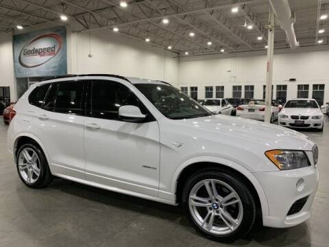 2014 BMW X3 for sale at Godspeed Motors in Charlotte NC