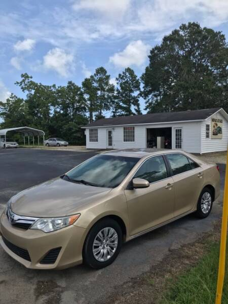 2012 Toyota Camry for sale at Northgate Auto Sales in Myrtle Beach SC
