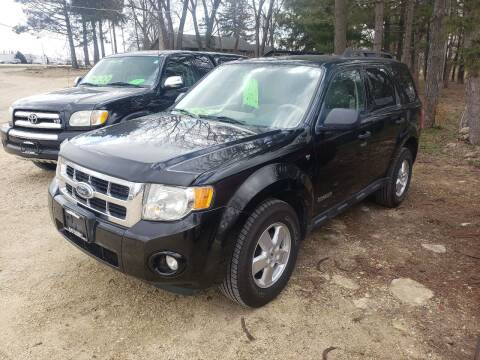 2008 Ford Escape for sale at Northwoods Auto & Truck Sales in Machesney Park IL