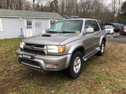 2002 Toyota 4Runner for sale at Manny's Auto Sales in Winslow NJ