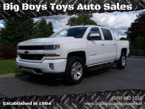 2017 Chevrolet Silverado 1500 for sale at Big Boys Toys Auto Sales in Spokane Valley WA