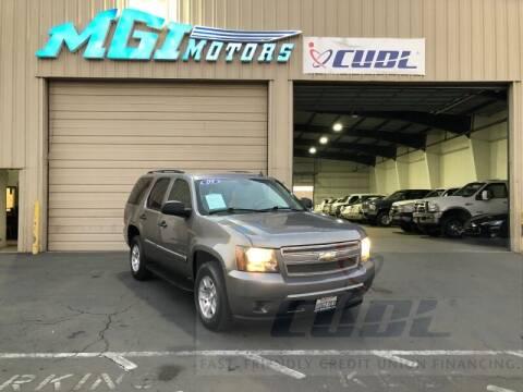 2009 Chevrolet Tahoe for sale at MGI Motors in Sacramento CA