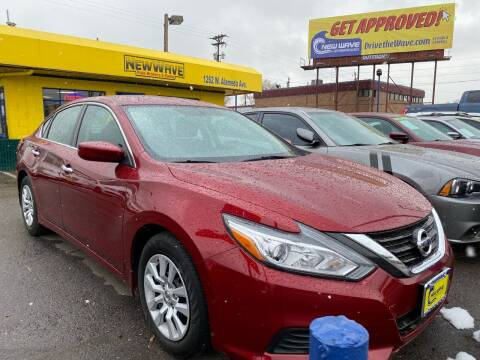 2018 Nissan Altima for sale at New Wave Auto Brokers & Sales in Denver CO