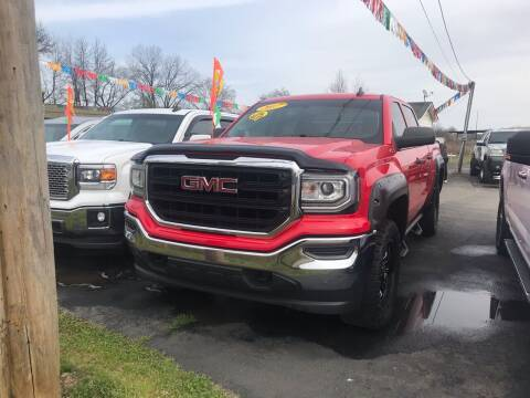 2017 GMC Sierra 1500 for sale at BEST AUTO SALES in Russellville AR