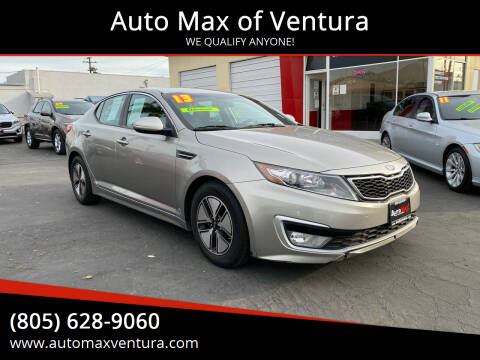 2013 Kia Optima Hybrid for sale at Auto Max of Ventura - Automax 2 in Ventura CA