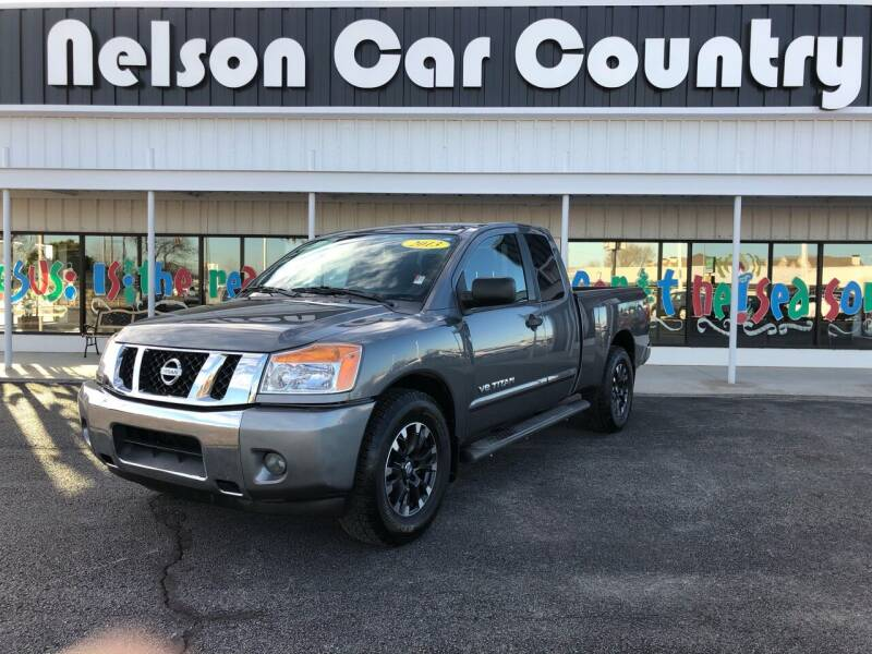 2013 Nissan Titan for sale at Nelson Car Country in Bixby OK