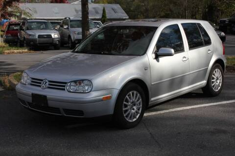2004 Volkswagen Golf for sale at Auto Bahn Motors in Winchester VA
