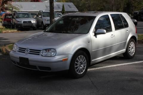 2004 Volkswagen Golf for sale at Auto Bahn Motors in Winchester VA